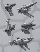 Light class ships by Flip-Fox