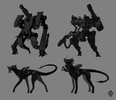 Concept sketches 2 by Flip-Fox