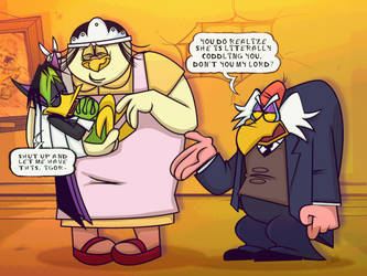 DUCKVEMBER: Duck Trio by DarkwingSnark