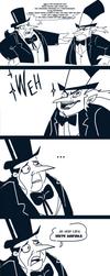 .:Penguin Fight:. by DarkwingSnark