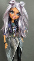 ~Lucky~ Monster High Clawdeen Wolf OOAK repaint by RogueLively
