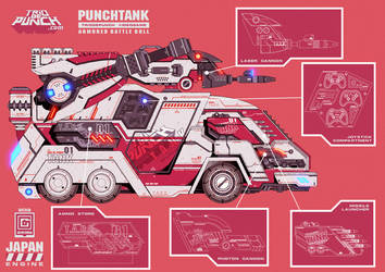 PUNCH TANK by GERCROW