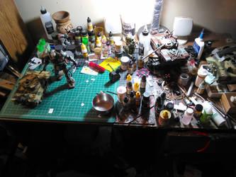 My workbench by DelosQAndrews