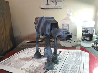 Winterized AT-AT by DelosQAndrews