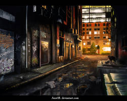Black quarter by Azot2018