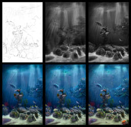 Underwater in process by Azot2018