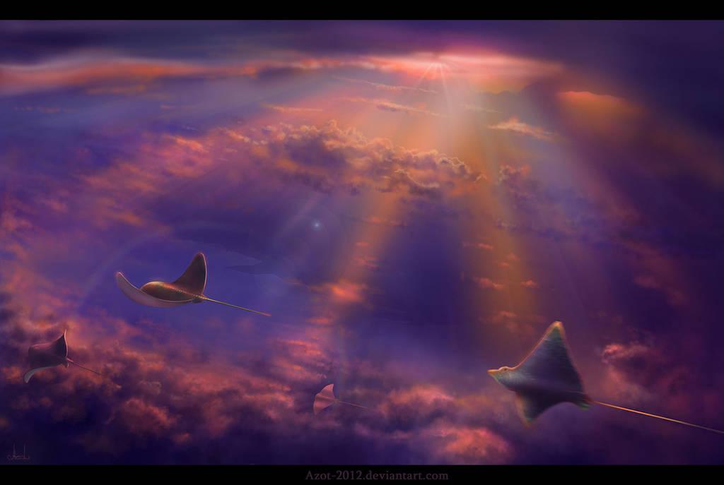 Dreamy Freedom by Azot2019