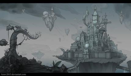 Forgotten Kingdom sketch by Azot2019