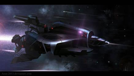 Speedpaint Rocket-Spaceship by Azot2018