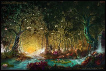 Magic Forest by Azot2018