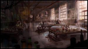 Old Lab - speedart by Azot2018