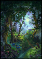 Summer Forest - book cover by Azot2018