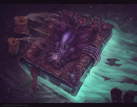 Cthulhu`s Book by Azot2018