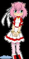-shiroiro- Amy Rose by AnimaGirlDaria-chan