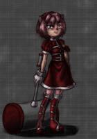 -Asylium-Amy Rose by AnimaGirlDaria-chan