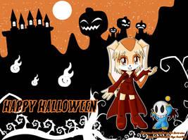 WP Halloween - CREAM - by AnimaGirlDaria-chan