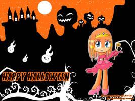 WP Halloween - TIKAL - by AnimaGirlDaria-chan