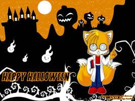 WP Halloween - TAILS - by AnimaGirlDaria-chan