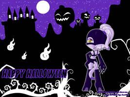 WP Halloween - BLAZE - by AnimaGirlDaria-chan