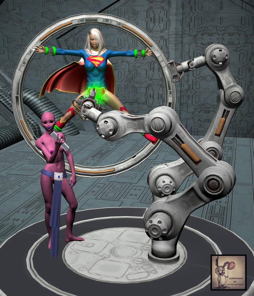 Supergirl Kryptobeam Peril by TheBadLieutenant