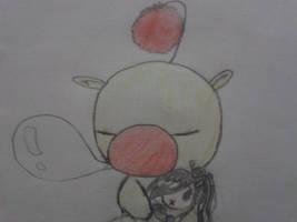 Moogle and Lulu doll by SaiHiroto