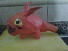 Gigimon papercraft by SaiHiroto