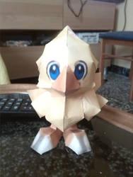Chocobo papercraft by SaiHiroto