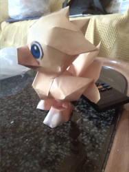 Chocobo papercraft (2) by SaiHiroto