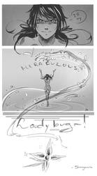 Miraculous Ladybug: In the Clocktower #7 FINAL by Strangerina