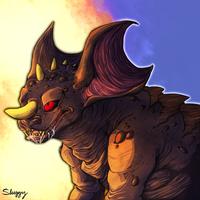 Prehistoric Monster by sadslug