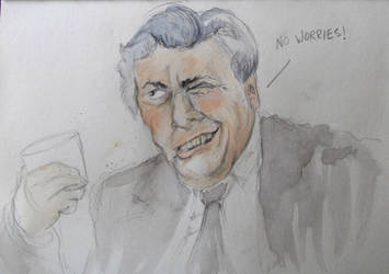 Sir Les Patterson by pickled-punk