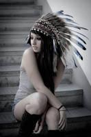 une indienne dans la ville by Image-of-You