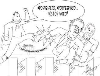 Ponyman vs Mancera by Goncen
