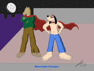 Ponyman y Dogman by Goncen