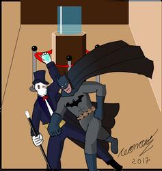 Fantomas Vs Batman by Goncen