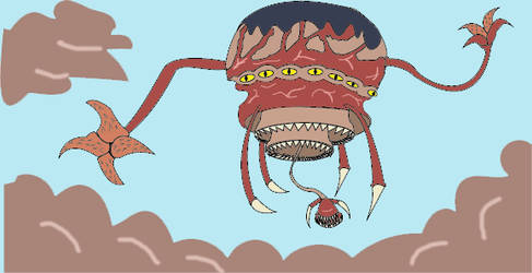 Flotador con infestacion Zerg by Goncen