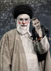 Khamenei Puppet Master by UnesDizainer
