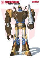 TF RiD Dinobot by DarioCld