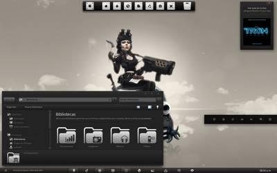 Alien Tako Laptop Desktop by RazielSnake