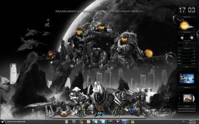 Halo Reach Desktop by RazielSnake