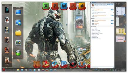 My October Desktop by RazielSnake