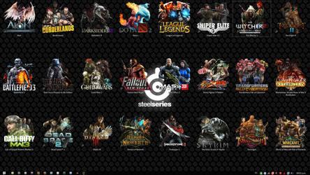 October Gamer Desktop by RazielSnake