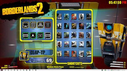 Borderlands 2 Gamer Desktop by RazielSnake