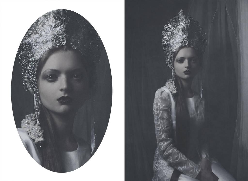 Her Darkness (headpiece) by AgnieszkaOsipa