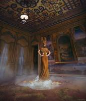 GIRL IN A GOLDEN GEYSER (costume) by AgnieszkaOsipa