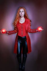 Scarlet Witch Cosplay. Avengers: Infinity War. by CarrotyM