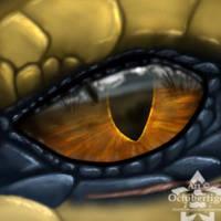 I see you. by Octobertiger