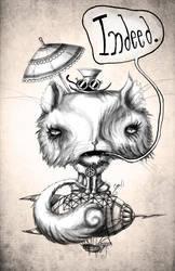 Steampunk Kitty Two by BunnyBennett