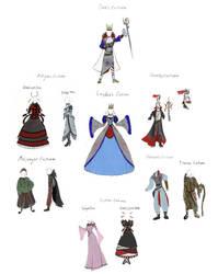 Antigone Concept Costumes by BunnyBennett