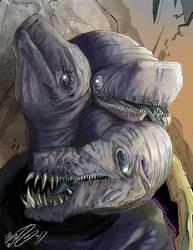 Hypomia The Violet Hydra by BunnyBennett
